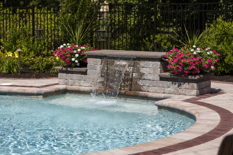 Providence Water Feature Photos, Newport Pool Design